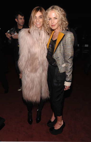 Carine Roitfeld and Rachel Zoe, Marc Jacobs