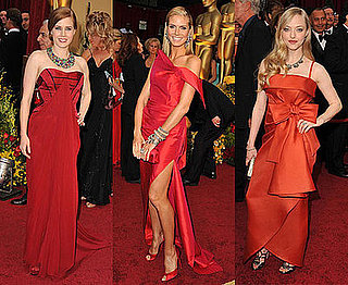 Which Oscars Attendee Looks Most Ravishing in Red?