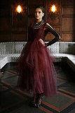 Monique Lhuillier's Blood-Dyed Tulle Ballerina