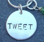 Tweet Necklace Is For Self Proclaimed Twitter Addicts