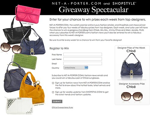 Win a Fab Chloe Bag and Sunnies From ShopStyle and Net-a-Porter!