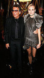 Robert Cavalli and Diane Kruger
