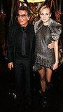 Robert Cavalli and Diane Kruger