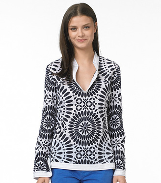 The Look For Less: Tory Burch Medallion Stephanie Tunic