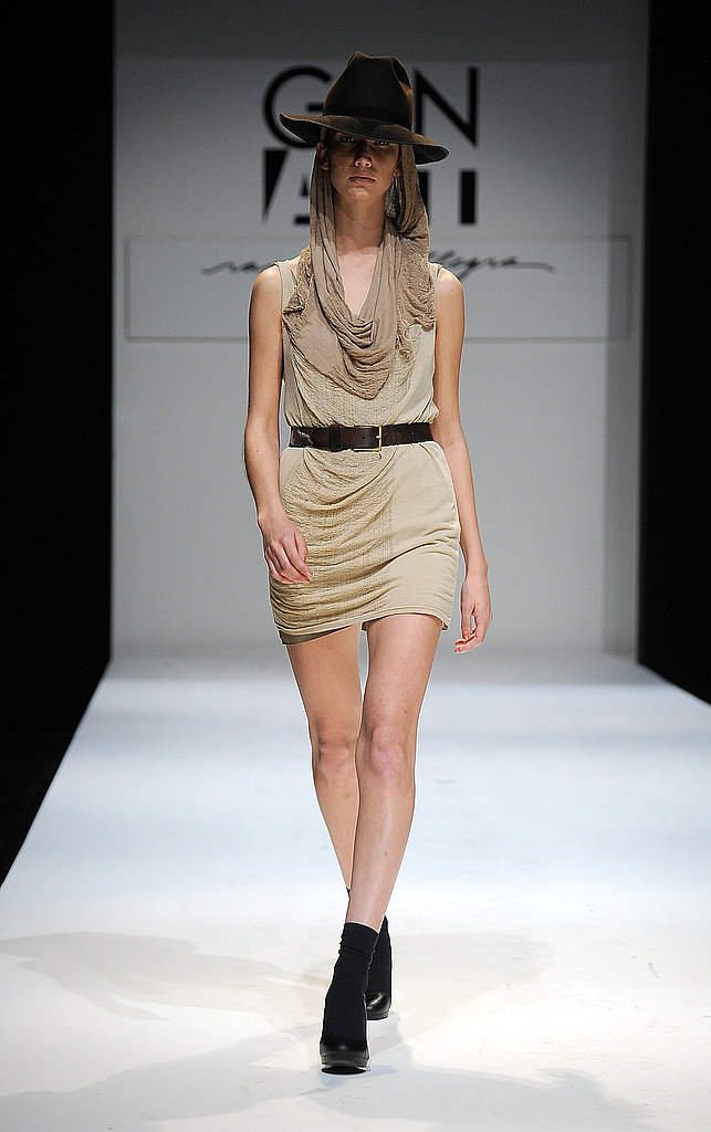 2009 LA Fashion Week: Raquel Allegra