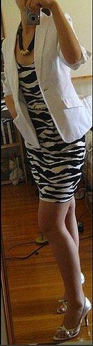 Look of the Day: Zebra Stripes