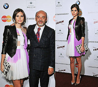 Pop Magazine Editor Dasha Zhukova in Rodarte Dress at Fetish by Christian Louboutin and David Lynch Exhibition
