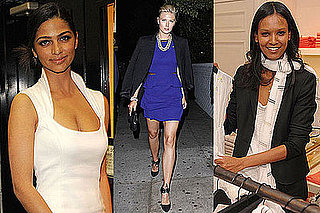 Photo of Camila Alves, Maria Sharapova, and Liya Kebede
