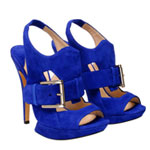 Trend Alert: Blue Suede Shoes