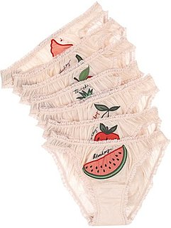 Stella McCartney Fruit of the Week Brief Underwear Pack
