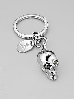 Fab Celebrates Spring With Saks: Share Your Fresh Flair With This Alexander McQueen Skull Keychain!