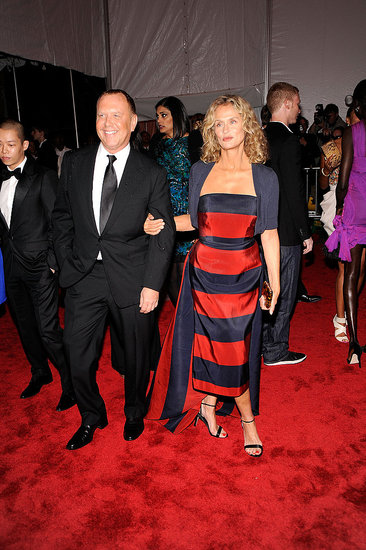 Michael Kors and Lauren Hutton