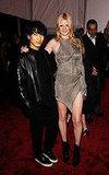 Alexander Wang and Lara Stone