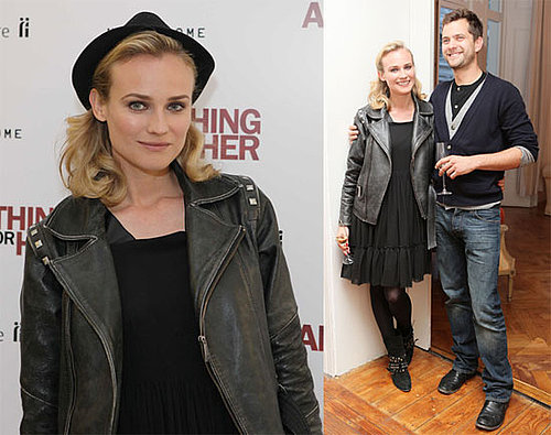 Photo of Diane Kruger and Joshua Jackson in London, England