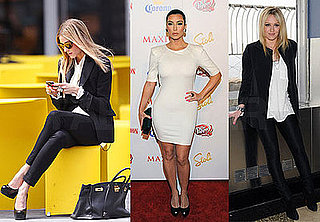 Photos of Olivia Palmero, Kim Kardashian, and Hilary Duff