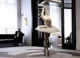 Karl Lagerfeld Creates Custom Tutu For Ballerina Elena Glurdjidze and Films Impromtu Performance