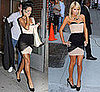 Photo of Rihanna and Paris Hilton Wearing Same Alexander Wang Corset Dress