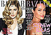 Doutzen Kroes and Angelina Jolie on July Cover of Harper&#039;s Bazaar