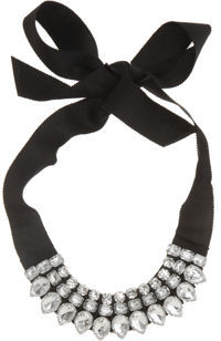 The Look For Less: Lanvin Strass Necklace