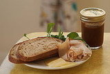 Recipe For Turkey Sandwich With Manchego Cheese and Pear Butter