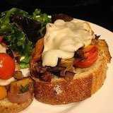 Recipe For Open-Face Ratatouille Sandwich