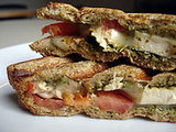 Recipe For Cilantro Chicken Panini With Tomato and Provolone
