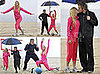 Photos of Heidi Montag and Spencer Pratt Working Out on the Beach in LA