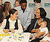 Photo of Salma Hayek at the One Vaccine campaign at the United States Fund for UNICEF