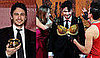 Photos of James Franco Receiving Harvard's Man of the Year Hasty Pudding Pot