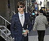 Photo of Chace Crawford on the NYC set of Gossip Girl