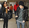 Lindsay and Sam at LAX