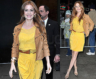 Video of Isla Fisher on Good Morning America