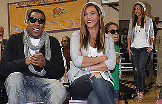 Photos of Beyonce, Jay-Z, LeBron James Donating Instruments, Video of Jay-Z Calling for Compassion, Support for Rihanna