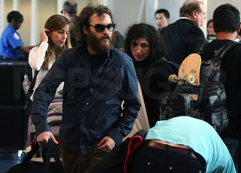 Casey and Joaquin at LAX
