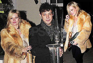 Photos of Kate Moss and Jamie Hince Heading Out of Her London Home