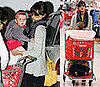Jessica Alba and Honor Head to Target 