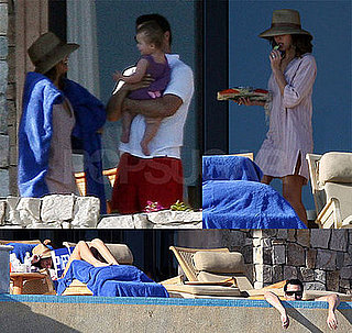 Photos of Jessica Alba, Honor Warren, Cash Warren in Mexico