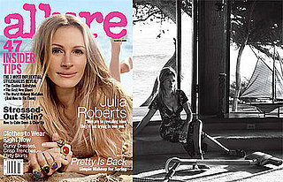 Photos of and Quotes From Julia Roberts in Allure Magazine March 2009
