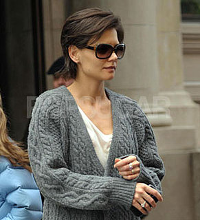 Photos of Katie Holmes Back in New York City