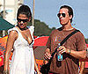 Photo of Matthew McConaughey and Camila Alves at the Beach in Rio