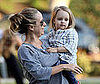 Photo of Jennifer Meyer and Ruby Maguire at a LA Park