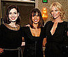 Photo of Anne Hathaway, Charlize Theron, and Jessica Alba at a V-Day Luncheon