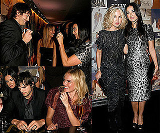Photos of Demi Moore, Ashton Kutcher, Rachel Zoe, Kate Bosworth at Domino Art of Elysium Party in LA