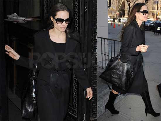 Angelina in NYC