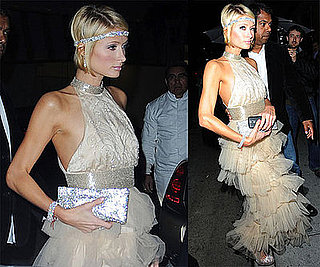 Photos of Paris Hilton, Who Won 3 Razzies, Out in LA