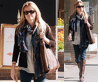 Photos of Reese Witherspoon in LA, Rumored to Star in Romantic Comedy with Owen Wilson and Paul Rudd