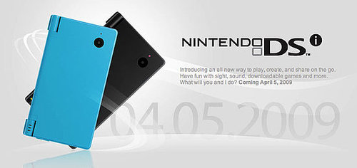 Nintendo's New DSi Coming April 5 For $169.99