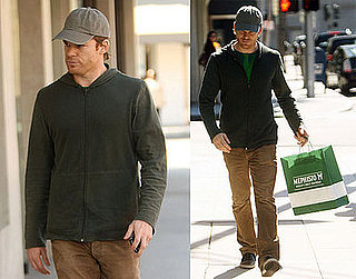 Photos of Michael C Hall Shopping for Shoes in LA