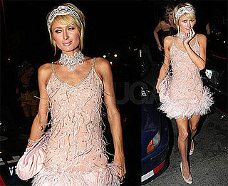 Photos of Paris Hilton Dressed Up in LA
