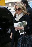 Kelly Ripa Leaves the Set